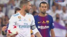 Sergio Ramos'un Lionel Messi ile Dalga Geçmesi