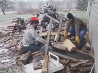 Koşu Bandını Odun Taşımak