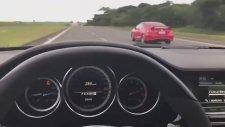 Mercedes CLS AMG ile Honda Civic Kapışması