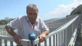 Trabzon'da Görenleri Şaşırtan Üst Geçit