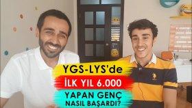 YGS-LYS'de İlk Yıl 6.000 Sıralama Yapan Genç Nasıl Başardı?