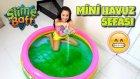 Cıvık Cıvık Slime Havuzuna Girdim ( Slime Baff )