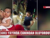 Samsun'da Çiğ Köfte Sırasında Meydana Gelen Kaza!