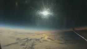 Uçakta Nefes Kesen Güneş Tutulması