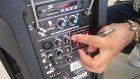 Aktif Kolon Taşınabilir Seyyar Mikser Kolon Nasıl Kullanılır Bateri Mikrofon Bağlamak Müzik Bölümü