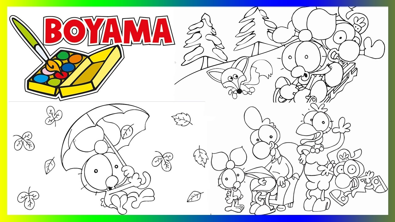 Limon Ile Zeytin 5 Boyama Videosu Nasıl Karikatür Boyanır