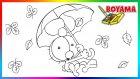 Limon ile Zeytin   Şemsiye   Boyama Öğreniyoruz   Karikatür   Boyama
