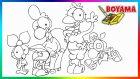 Limon ile Zeytin   Sizinkiler   Boyama Öğreniyoruz   Karikatür   Boyama