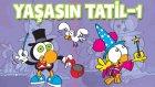 Limon ile Zeytin   Yaşasın Tatil Part-1  Nostalji   Animasyon   Çizgi Film