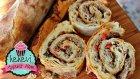Lahmacun Börek / 10 Dakikada Fırında Pratik Kıymalı Rulo Börek Tarifi Ayşenur Altan Börek Tarifleri