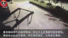 Motor Süren Adamın Talihsiz Kazası