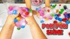 Süslü Ponpon Slime Challenge - Harika Ötesi Oldu