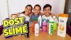 Arkadaşlarımla Yarışmadan Karma Slime Yapmak - Dostluk Slime