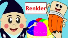 Renkler | Renkleri Öğreniyorum | Çocuklar için Eğitici Çizgi Filmler